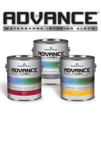 <h1>Innovative Waterborne Alkyd for Cabinetry. Achieve a superb alkyd finish with low-VOC, soap-and-water cleanup ADVANCE paint</h1>LEARN MORE
