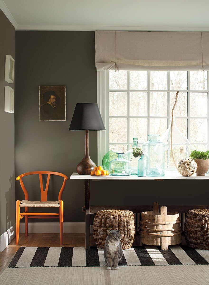 Williamsburg color collection Benjamin moore historical collection