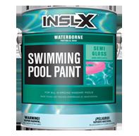 Waterborne Swimming Pool Paint, Semi-Gloss WR-10XX, Semi-Gloss