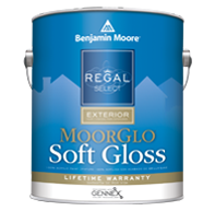 Regal® Select Exterior Paint — MoorGlo® Soft Gloss Finish