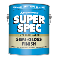 Super Spec Interior Latex Enamel - Semi-Gloss