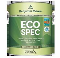 Eco Spec WB Interior Latex Paint - Semi-Gloss