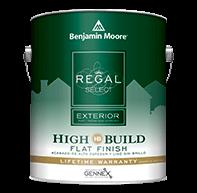 Regal Select Exterior High Build - Flat Finish