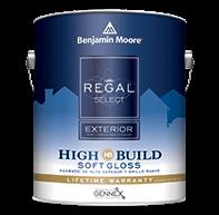 Regal Select Exterior High Build - Soft Gloss Finish