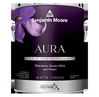 Aura Waterborne Interior Paint - Matte Finish