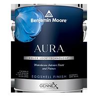 Aura Waterborne Interior Paint - Eggshell Finish
