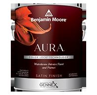 Aura Waterborne Interior Paint - Satin Finish