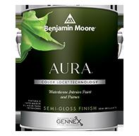 Aura Waterborne Interior Paint - Semi-Gloss Finish
