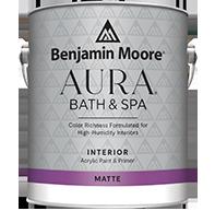 Aura Bath & Spa Waterborne Interior Paint - Matte Finish