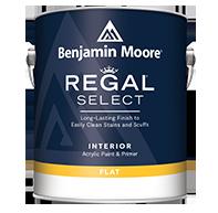 Regal Select Waterborne Interior Paint - Flat