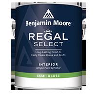 Regal Select Waterborne Interior Paint - Semi-Gloss