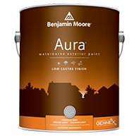Aura Waterborne Exterior Paint - Low Lustre Finish