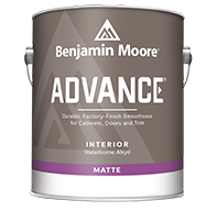 ADVANCE® Waterborne Interior Alkyd Paint - Matte