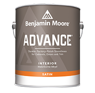 ADVANCE® Waterborne Interior Alkyd Paint - Satin Finish