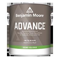 ADVANCE® Waterborne Interior Alkyd Paint - Semi-Gloss Finish