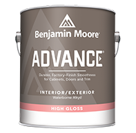 ADVANCE® Waterborne Interior Alkyd Paint - High Gloss Finish