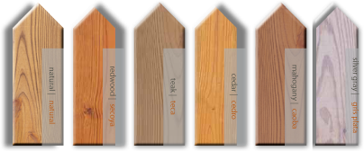 Semi-Transparent Wood Stain Colors