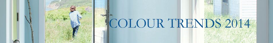 Benjamin Moore Colour Trends 2014
