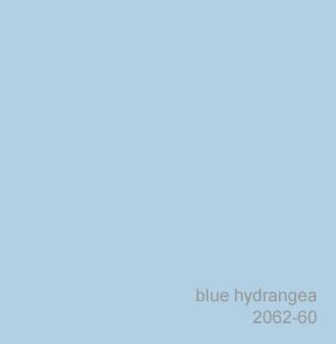 Benjamin Moore Blue Hydrangea 2062-60
