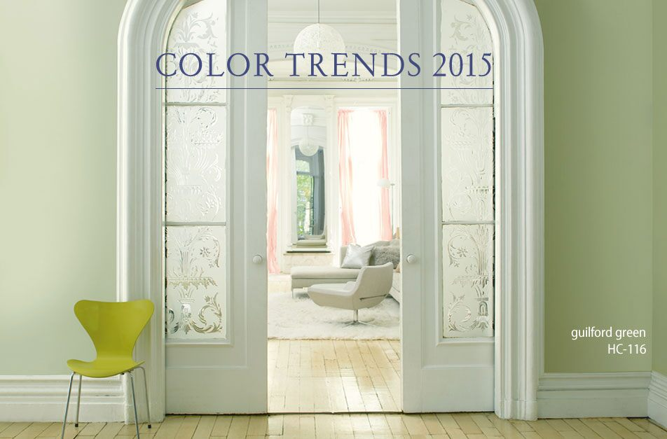 Benjamin Moore Guilford Green HC-116 in REGAL Select Matte