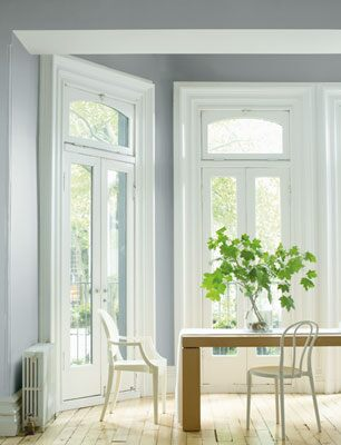 Benjamin Moore Silver Fox 2108-50 in Regal Select Eggshell