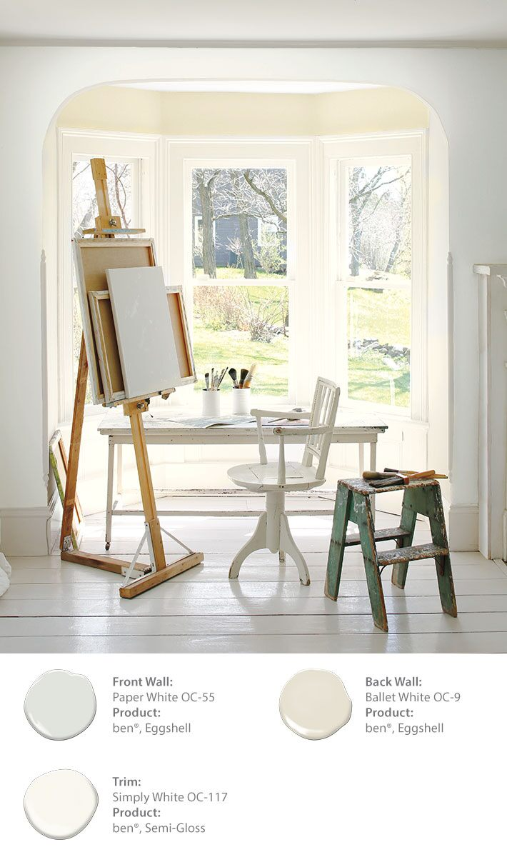Color of the year 2016 color trends of 2016 benjamin moore for Benjamin moore french white