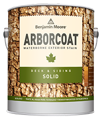 ARBORCOAT stain from Benjamin Moore can survive any pressure test.
