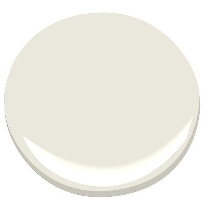 Dove Wing by Benjamin Moore for a beautiful #whitepaint color for trim