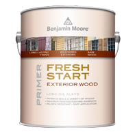 THORNHILL PAINT SUPPLIES A premium quality exterior primers ensure best results, especially when priming new or previously painted wood and weathered surfaces.boom