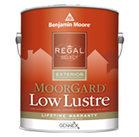Elmont Paint & Design Center Regal Select Exterior adheres beautifully to hard-to-coat surfaces creating a  durable, robust finish.boom