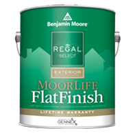 Frontier Paint Company Regal Select Exterior is formulated with alkyd technology to provide superior adhesion even on hard-to-coat surfaces.boom