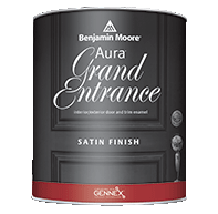 EVOLUTION PAINT COMPANY Aura Grand Entrance brings rich, vivid color and exceptional durability to your interior/exterior doors and trim.boom
