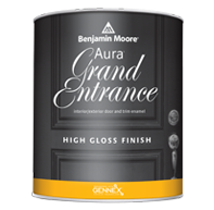 Paul's Paintin' Place Aura Grand Entrance brings rich, vivid colour and exceptional durability to your interior/exterior doors and trim.