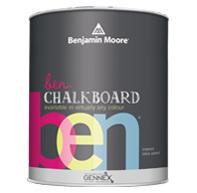 Portage Avenue Paints Chalkboard Paint, available in any colour, lets you turn virtually any interior surface into an erasable chalkboard.boom