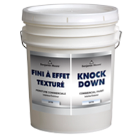 Benjamin Moore Knockdown - Satin