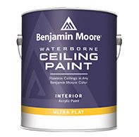 THE PAINT BARN FLOORING AND DECORATING CENTER Waterborne Ceiling Paint is an ultra flat finish designed to hide common ceiling imperfections for a look that is virtually flawless.
