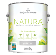 Huntington Paint & Wallpaper Natura premium interior primer is Benjamin Moore's greenest primer.boom