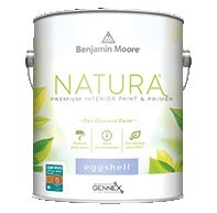 Brighton Paint Co. Natura Waterborne Interior Paint is Benjamin Moore's greenest paint.