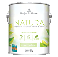 Delhi Paint & Paper Natura Waterborne Interior Paint is Benjamin Moore's greenest paint.