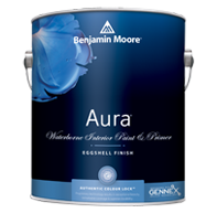 PORTAGE AVENUE PAINTS INC. Aura Interior, with our exclusive Colour Lock™ technology, delivers the ultimate performance for brilliant, rich, and everlasting colour.