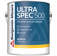 GUTHRIE PAINT Zero-VOC Ultra Spec 500 is a professional-quality interior coating designed to meet the needs of professional painting contractors.boom