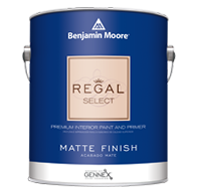 Tom's Paint & Wallpaper Llc Regal Select Interior has been a trusted brand for more than 50 years and is formulated for easy cleaning in a wide variety of sheens.boom