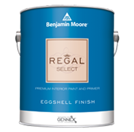 Orange Paint Store Regal Select Interior has been a trusted brand for more than 50 years and is formulated for easy cleaning in a wide variety of sheens.