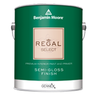 Color Market, LLC Regal Select Interior has been a trusted brand for more than 50 years and is formulated for easy cleaning in a wide variety of sheens.