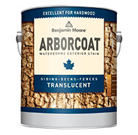 BESSE'S PAINT & DECORATING ARBORCOAT stains offer superior protection while enhancing the texture and grain of wood surfaces.boom