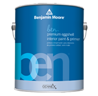 Sacks Paint & Wallpaper ben Interior is user-friendly paint for flawless results and puts premium color within reach.
