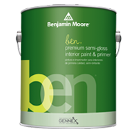 ben Interior Paint- Semi-Gloss