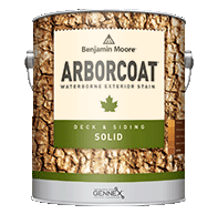 BAY CITY PAINT & WALLPAPER INC ARBORCOAT stains offer superior protection while enhancing the texture and grain of wood surfaces.boom