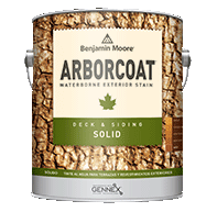 The Paint Barn, Inc. ARBORCOAT stains offer superior protection while enhancing the texture and grain of wood surfaces.boom