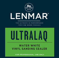 UltraLaq® Water White Vinyl Sanding Sealer